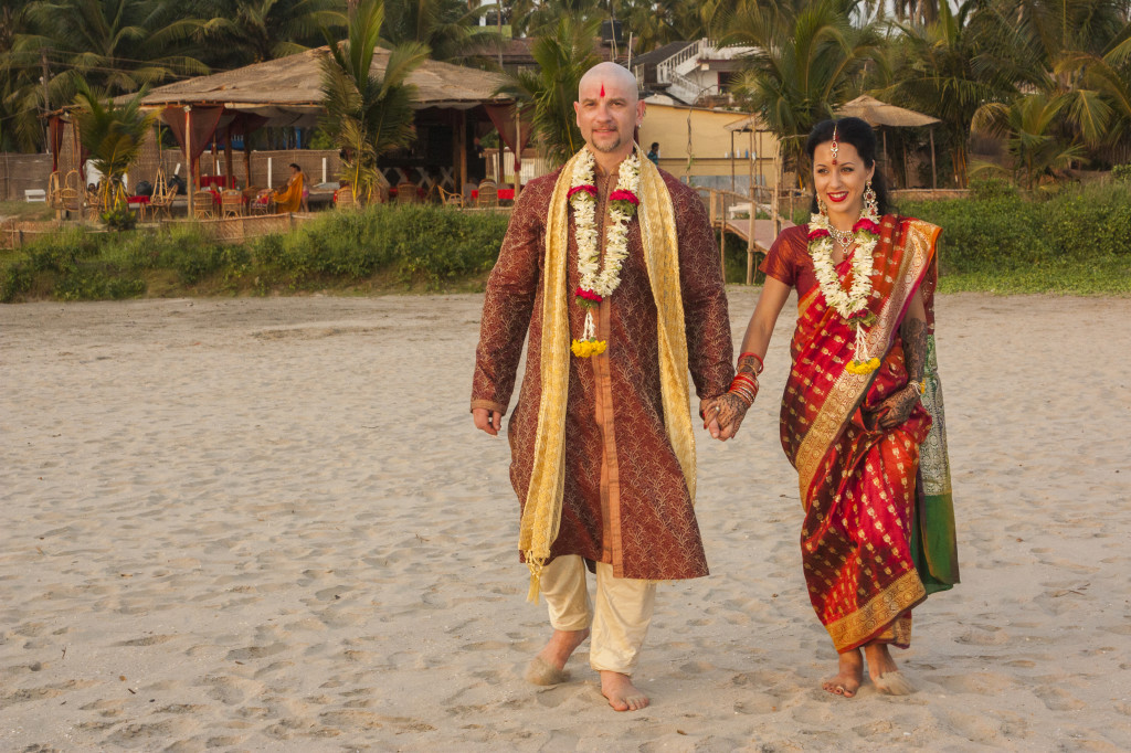 Свадьба Гоа Индийский стиль